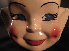 Retro Midcentury Elf Pixie Cookie Jar 1960s 1950s by TheRetroLife, $49.95