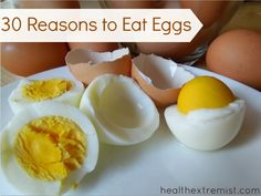 Are Eggs Good For You? See 30 Reasons You Should Be Eating Eggs. #eggs #healthy