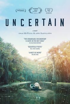 """Directed by Ewan McNicol, Anna Sandilands. Uncertain is a visually stunning and disarmingly funny portrait of the literal and figurative troubled waters of Uncertain, Texas, a town so tucked away """"you've got to be lost to find it"""". Netflix Movies To Watch, Movie To Watch List, Tv Series To Watch, Good Movies To Watch, See Movie, Cinema Movies, Film Movie, Movies Worth Watching, Christian Movies"""