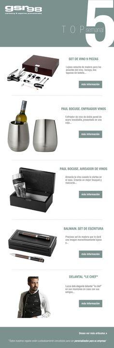 Hoy os presentamos nuestro top 5 en #regalos promocionales especial #bodegas. Esperamos que os gusten: www.regalodeempresagsr98.es