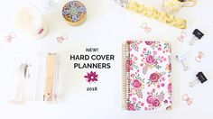 Product Walkthrough of our new bloom 2018 hard cover planners! Get an inside look at our latest and greatest :)