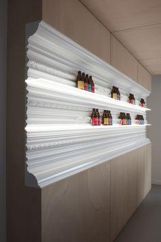 ORAC Showroom | Work | Pinkeye designstudio #pinkeyedesign
