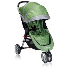 Baby joggers - Pin it :-) Follow us .. CLICK IMAGE TWICE for our BEST PRICING ... SEE A LARGER SELECTION of   baby joggers at   http://zbabybaby.com/category/baby-categories/baby-strollers/baby-jogger-stroller/  - gift ideas, baby , baby shower gift ideas, kids  - Baby Jogger 2010 City Mini Single Stroller, Green/Grey « zBabyBaby.com