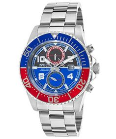 Men's Wrist Watches - Invicta Mens 18517 Pro Diver Stainless Steel Bracelet Watch -- You can get additional details at the image link.