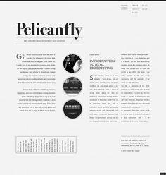 Pelicanfly Website