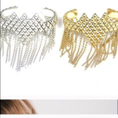 Sunahara Fringe Cuff in Silver Antiqued silver plate . Gorgeous ! Last one ! Sunahara Jewelry Jewelry Bracelets