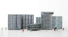 Recycled Paper Replicas of Iconic Warsaw Buildings by Zupagrafika