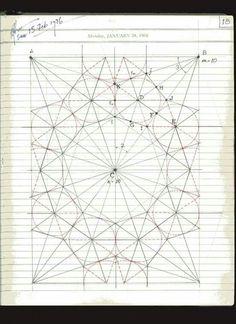 Page 18 of 191 Islamic Art Pattern, Arabic Pattern, Pattern Art, Print Patterns, Pattern Design, Sacred Geometry Patterns, Sacred Geometry Art, Geometric Designs, Geometric Art