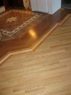 Trendy Hardwood Floor Tile: Kitchen With Brick And Wood Floor Tile To Wood  Floor Transition Tile To Hardwood Floor Transition Pieces Hardwood Floor  Ceramic ...