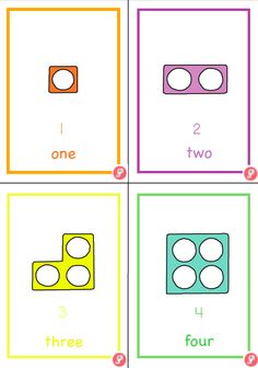 0-20 Numicon Number Flashcards | Just Teach It