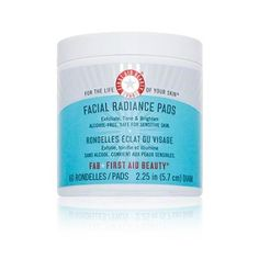 Amazon.com: First Aid Beauty Facial Radiance Pads-60 ct.: Health & Personal Care