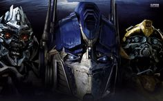 Megatron, Optimus Prime  and Bumblebee