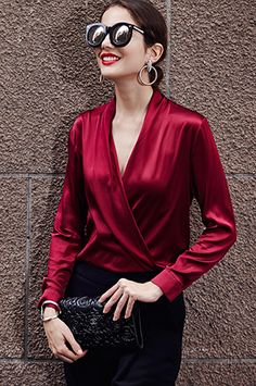 Swans Style is the top online fashion store for women. Shop sexy club dresses, jeans, shoes, bodysuits, skirts and more. Blouse Styles, Blouse Designs, Sequin Cami Top, Look Fashion, Fashion Outfits, Tops Online Shopping, Vetement Fashion, Smart Dress, Cute Crop Tops