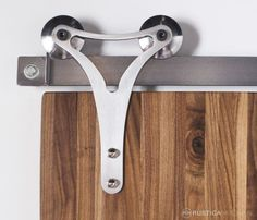 <p>Defined by sleek lines, this Triangle Roller Hanger is characterized by its minimalistic shape. A symbol of architectural strength, this Triangle Roller hanger defines modern style. Perfect for use with our Modern Tube Track, Wire Rail Track and Flat Track hardware. This hanger mounts to the face of the door. Pictured With: Color / Finish: […]</p>