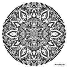 Mandala drawing 10 by Mandala-Jim on DeviantArt