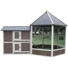Innovation Pet Coops Feathers Gazebo Chicken Coop