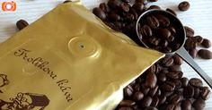 Frolíkova káva, která je krásně voňavá a příjemně čokoládová. Je to směs arabiky.