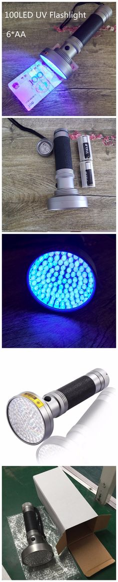 Blacklight UV Flashlight 100 LED Handheld Ultraviolet Pet Urine Stain Finder Human Fluids, Counterfeit Money, Bed Bugs Scorpions from Reliable bug gps car tracker  #FFRanTechStore #100LEDUVLamp #100LEDUVDetector #UVScorpionDetector #PetUrineFinder