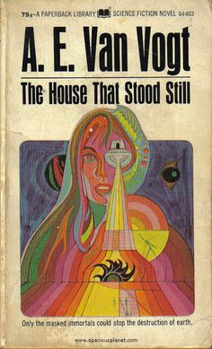 The House That Stood Still by A.E. Van Vogt was published in 1950, and sometimes published as Undercover Aliens. - Allison stephens knew there was something mysterious about the house and the people in it. Then he stumbles on the space ship and learned of the atomic war soon to destroy the earth. He also found the strange people who lived for hundreds of years and possessed the knowledge of centuries.. they could have saved mankind.. but instead they planned to escape to another planet.