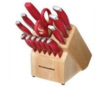 Enter To Win A 16-piece Kitchenaid Cutlery Set