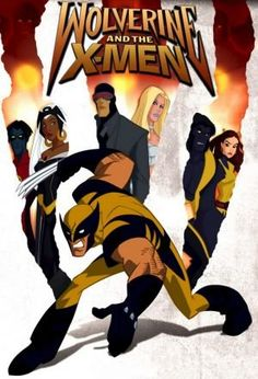 "cool ""Wolverine & The X-Men"" Original Animation Art - Wolverine & Storm"