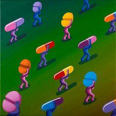 Pill Procession