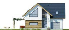Elsa Modern Bungalow House, Bungalow Exterior, German Houses, Architectural House Plans, Small House Design, House 2, Home Decor Kitchen, Home Fashion, Future House