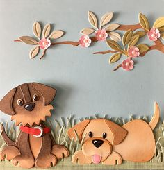 DutchPaperCrafts: Marianne Pre Order Your Tip for Calming Fussy Babies Could Be a Winner If Paper Punch Art, Paper Art, Dog Cards, Kids Cards, Foam Crafts, Crafts To Make, Marianne Design Cards, Animal Cards, Clear Stamps