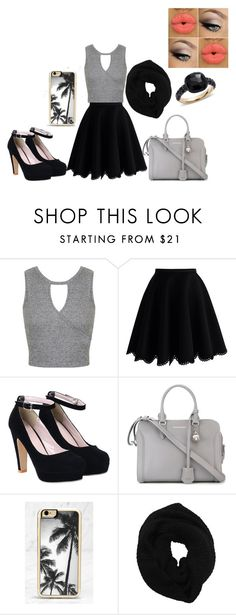 """""""outfit"""" by udontknowme1267 on Polyvore featuring Miss Selfridge, Chicwish, Alexander McQueen, Zero Gravity, Wyatt and Pomellato"""