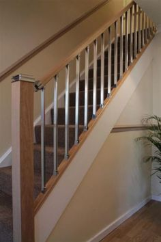 Solution modern stair parts perfect to open up and create lighter in dark spaces **Currently free delivery