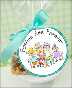 "Printable Tag ""Families Are Forever""                                                                                                                                                                                 More"