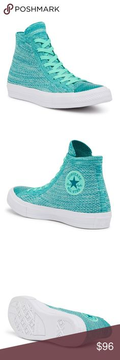 Converse Chuck Taylor All Star x Nike FlyKnit Hi-T Sizing  Sized according  to 2112ef417