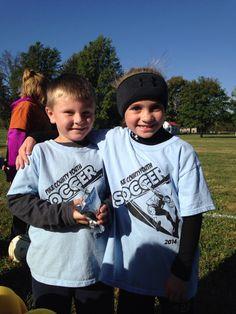 Fun at soccer!