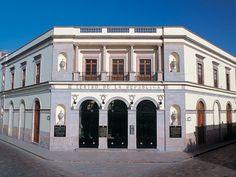 Teatro de la República; así luce de día. Es fabuloso. Querétaro, México. (drsa)