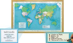Your World Personalised Framed Map