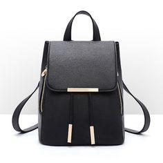 e90d58600e Women PU Leather Backpack Handbag Shoulder Travel School Bag Rucksack  Satchel  Unbranded  Backpack Schools