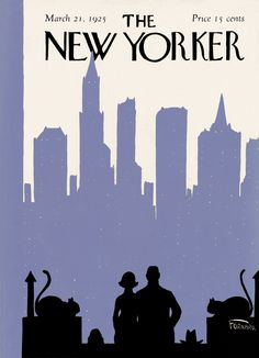The New Yorker - Saturday, March 21, 1925 - Issue # 5 - Vol. 1 - N° 5 - Cover by : Carl Fornaro