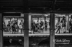 www.edithlevyphotography.com TheNew York subway series continues! #NYC #newyork #subway #blackandwhite