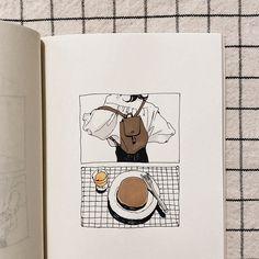 Kunstjournal Inspiration, Sketchbook Inspiration, Art Drawings Sketches, Cute Drawings, Arte Copic, Posca Marker, Posca Art, Art Diary, Arte Sketchbook