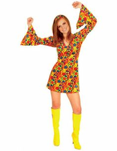 Female Hippie Costume [FD69783] - £17.99 : Get It On Fancy Dress Superstore, Fancy Dress & Accessories For The Whole Family. http://www.getiton-fancydress.co.uk/all-new-products/female-hippie-costume#.Usytovu6-RM