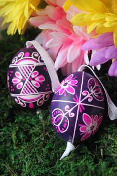 Beautiful Purple Easter Eggs - Boutique Victoria