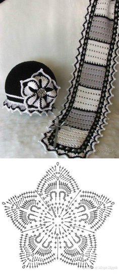 Crochet Scarf PATTERN - Sweetheart Scarf - crochet pattern for ...