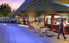 Innovative ways to reuse the empty space beneath overpasses  http://www.citylab.com/design/2011/09/under-overpass-projects-under-freeways/192/