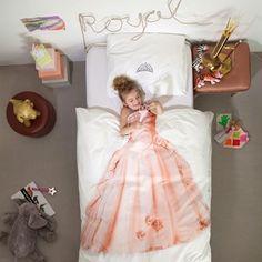 Snurk sängkläder - Prinsessa | Princess, bäddset, påslakan, linens, duvet covers, bed