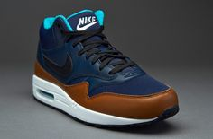 Nike Air Max 1 Mid FB Blue/Brown-Black