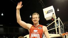 """One half of the Hawks' """"Batman and Robin"""" (along with Glen Saville), Mat Campbell (Hawk from 1995-2012)"""