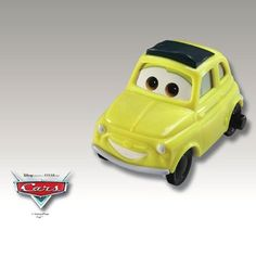2006 McDonalds Happy Meal Toy Disney Pixar Film Cars #7 Luigi MIP Fast Food Collectible Action Figur @ niftywarehouse.com #NiftyWarehouse #Disney #DisneyMovies #Animated #Film #DisneyFilms #DisneyCartoons #Kids #Cartoons