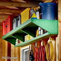 Do It Yourself Garage Storage- CLICK THE PIC for Lots of Garage Storage Ideas. #garage #garageorganization