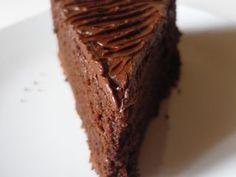 Torta ricca al cioccolato fondente