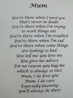 Mom Poems From Son Happy Birthday Daughter 8 Mom Pictures My Mum Quotes, Thank You Mom Quotes, Mom Quotes From Daughter, Daughter Poems, Mother And Daughter Drawing, Mum Poems, Mother Poems, Mothers Day Poems, Happy Mother Day Quotes